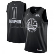 Golden State Warriors Klay Thompson 11# Svart 2018 All Star Game NBA Basketlinne..